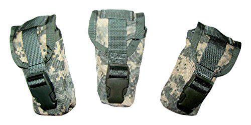 USGI 3x Official US Military ACU Molle Flashbang Grenade ()