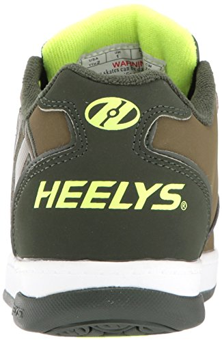 Dark Men's Heelys Bright 2 Sneaker Propel Olive Green Yellow 0 vPYFtqP