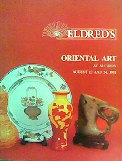Oriental Art At Auction (August 23 and 24, 1991)