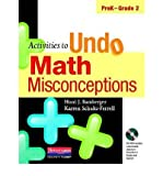 [(Activities to Undo Math Misconceptions, PreK-Grade 2)] [Author: Honi Joyce Bamberger] published on (September, 2010)