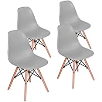 HOMY CASA Dining Chair Mid Century Modern Style Eames...