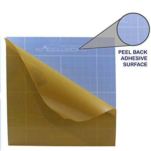 LokBuild 3D Print Build Surface, sticky back sheet, quick, clean removal of printed parts, versatile (SINGLE PACK 12'' by LOKBUILD (Image #4)