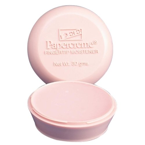 Wholesale CASE of 25 - Lee Papercreme Fingertip Moistener-Fingertip Moistener,Non-greasy,Nonskid Base,30 Grams