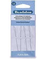 Beadalon Collapsible Eye Needles 2.5-Inch Medium