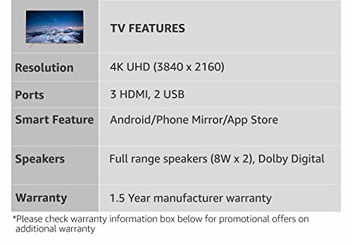 TCL 124.5 cm (49 inches) P2 L49P2US 4K UHD LED Smart TV (Golden)