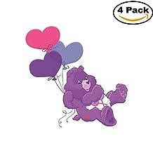Care Bears Share Kids Cartoon Bumper Sticker Decal 4X4