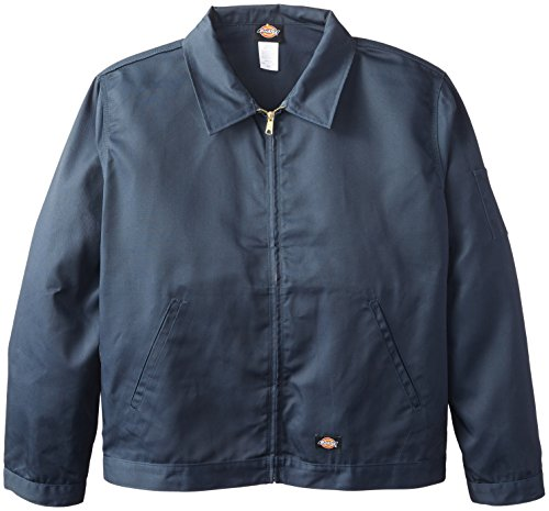 Dickies Men's Big-Tall Unlined Eisenhower Jacket, Dark Navy, 3X Regular