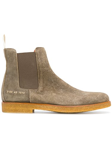 Herren Stiefeletten 21051010 PROJECTS Grün COMMON Wildleder pw6q57