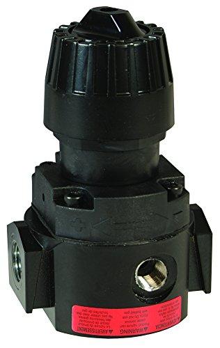 Dixon R16-04RH Wilkerson 1/2'' Compact Hi-Pressure Regulator without Gauge, 88.0 SCFM, Metal/Plastic by Dixon Valve & Coupling