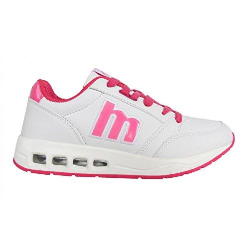 Chaussures de sport pour Femme MTNG 69320 BLANCO-MESH FUCSIA