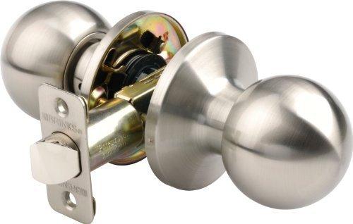 Brinks 2715-119 Manopola per porta stile Ball per sala e armadio, nichel satinato di