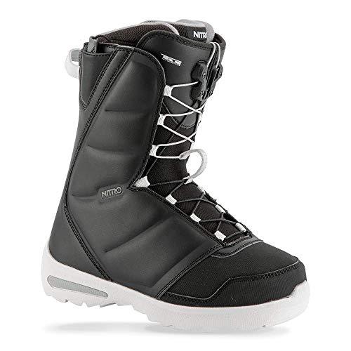 Nitro Flora TLS Snowboard Boot (Black, 8.5) - Women's - Nitro Snowboarding Boots