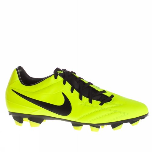 sale retailer e40ef 3b367 Nike Men s T90 Strike IV FG Soccer Shoes 7 Men US (Volt Black Citron)