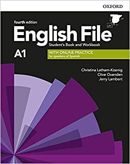 English File 4th Edition A1. Students Book and Workbook ...