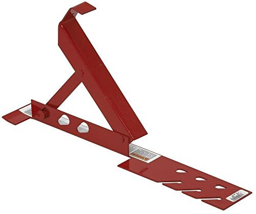Qual-Craft Adjustable Roof Bracket Metal 8 ' Osha 180 Lb by Guardian Fall Protection