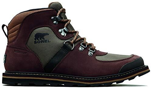 Sorel - Men's Madson Sport Hiker Waterproof Leather Boots, Mud, 7 M US