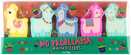 (GFA 5-Piece No Probllama Bath Bomb Fizzers)