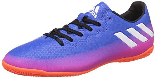 Scarpe 16 Adidas footwear Messi blue Indoor solar White Orange Uomo Calcio 4 Da Blu w15I5fq
