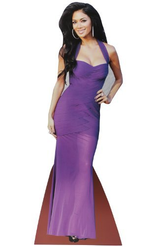 Desktop Celebrity Carboard Cutout - Nicole Scherzinger by - Nicole Celebrity