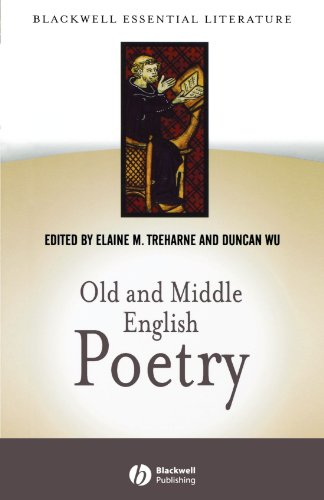 Old and Middle English Poetry (Blackwell Essential Literature)