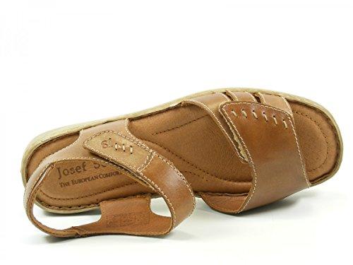 Josef Seibel Schuhfabrik GmbH Lisa 01 73715 95 517 - Sandalias clásicas de cuero para mujer Virginia Tan