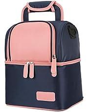 Meichoon Breast Milk Baby Bottle Cooler Bag/Waterproof Baby Milk Bag Freezer/Mommy Travel Backpack/Portable Thermal Insulated Lunch Box for Women Men Kids Large Capacity Handbag