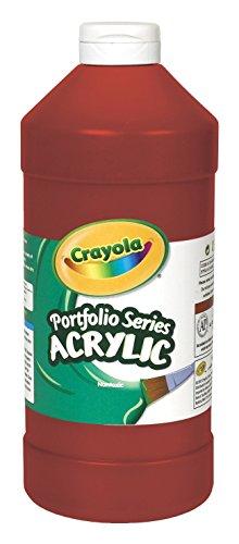 Crayola Portfolio Series Acrylic Paint, Deep Red