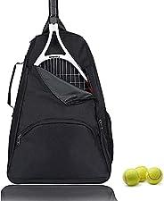 HERSENT Tennis Bag, Tennis Backpack,Tennis Racket Bag,Large Tennis Paddle Storage Bag for Women and Men to Hol