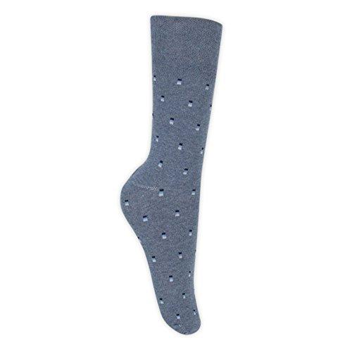 12 11 aderenti elastico Calzini maschi delicati 6 Costume non Ru 14 blu Taglia g55qRzn