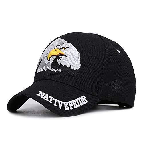 - Wxtreme 2019 Spring Summer Mens Baseball Caps Embroidery Eagle Hunting Desert Hat Women Hip Hop Adjustable Golf Sports Hats Casual Adjustable Cotton Hat Trucker Caps