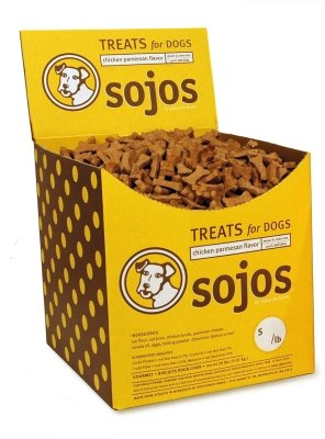 SojoS Bulk Dog Treat Chicken Parmesan, Large by SOJOS