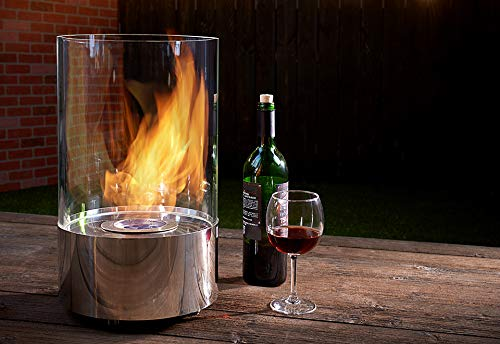 Sharper Image Tabletop Round Fireplace by Sharper Image