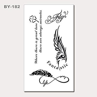 Pequeñas y frescas pegatinas de tatuaje a prueba de agua Etiquetas ...