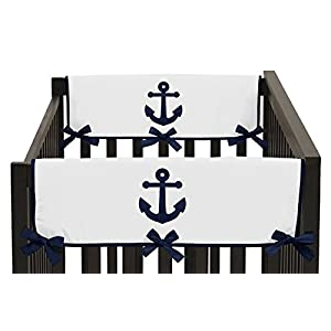 412wItleyoL._SS300_ Nautical Crib Bedding & Beach Crib Bedding Sets