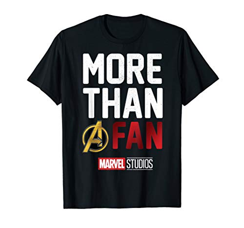Marvel Studios MORE THAN A FAN 2019 Graphic T-Shirt