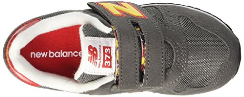 New Balance KV373TOI Sport Shoes Kids Textile Grey/Orange Grey/Orange 21