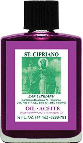 amazon com indio st cipriano oil 0 5oz beauty