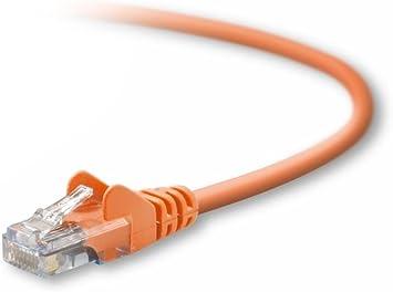 A3l791-01-blk Belkin 1ft CAT5E Patch Cable Black Belkin Components