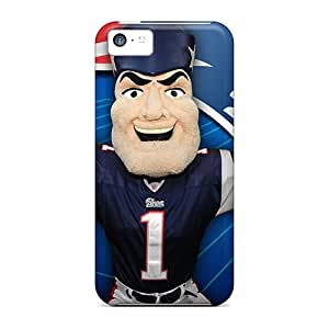 ZIb17373CBes Tpu Phone Cases With Fashionable Look For Iphone 5c - New England Patriots