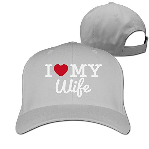 YYQON I Love My Wife Solid Color Cap