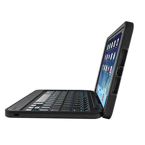 ZAGG Rugged Book Durable Case, Hinged with Detachable Backlit Keyboard for iPad Mini/Mini 2/ Mini 3 - Black by ZAGG (Image #4)