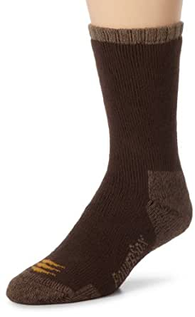 Gold Toe Men's 2-Pk Powersox Heavy Cushion Socks, Bark, Medium