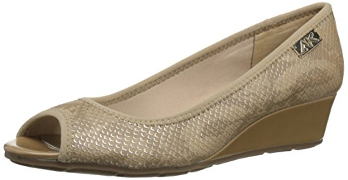 Anne Klein AK Sport Women's Camrynne Wedge, Natural Multi, 6.5 M (Klein Womens Wedge Shoes)