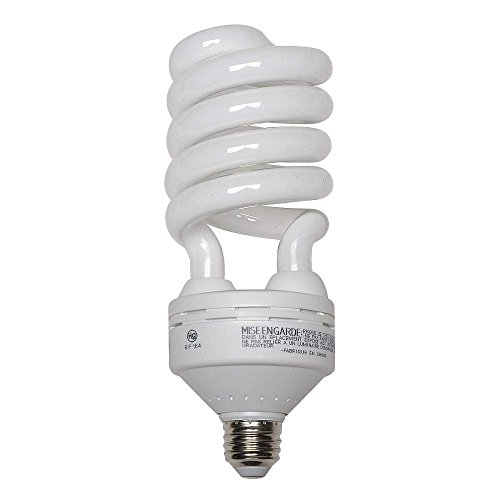 GE LIGHTING 55W, Spiral Screw-In Fluorescent Light Bulb (55w Spiral)
