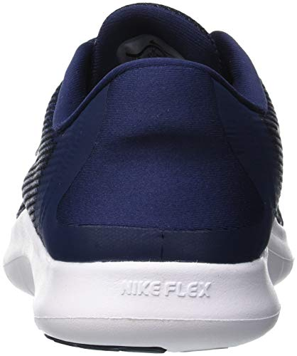 Herren Run Flex Navy Running Nike Midnight Laufschuh 001 Recall Uomo Scarpe Multicolore Blue White 2018 RdZtq