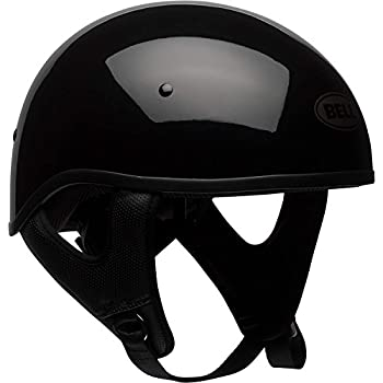 Bell Pit Boss Sport Open-Face Motorcycle Helmet (Solid Black, Large)