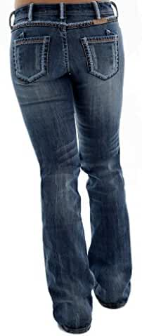 Cowgirl Tuff Western Denim Jeans Womens Copper Beauty Med JCPPBE