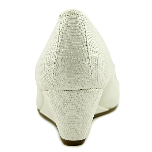 Femmes Bernini Giani Jileen Blanc Compensées Sandales U5qdwxqEp