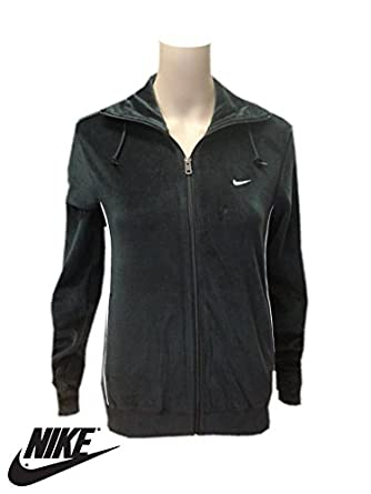 Nike Womens Black Velour Tracksuit top. Sizes S 494e0adebe