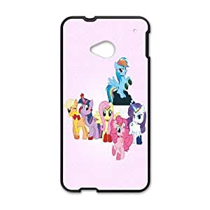 HTC One M7 phone cases Black My Little Pony cell phone cases Beautiful gifts UREN2396435